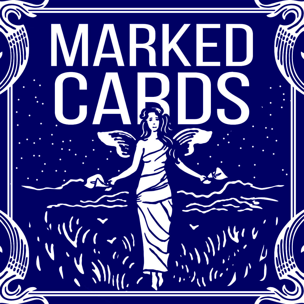 Marked Cards Maiden Deck. Blue Back