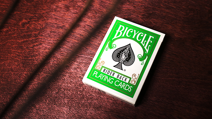 Green Backed Bicycle Deck