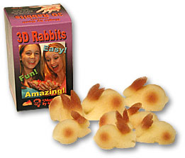 >3D Rabbit Set