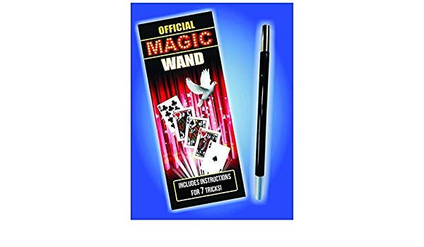 Official Magician's Wand - chrome