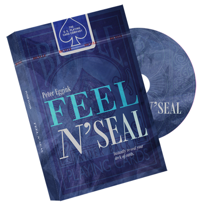 Feel N' Seal Blue (DVD and Gimmick)
