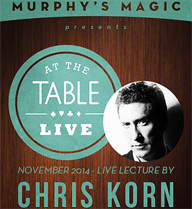 >At the Table Live Lecture - Chris Korn 11/12/2014 - video DOWNLO