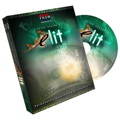 >eLit (DVD and Gimmick) by Peter Eggink