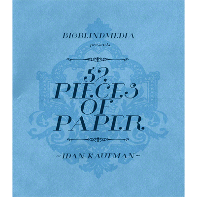 >52 Pieces Of Paper by Idan Kaufman and Big Blind Media vidoe DOW