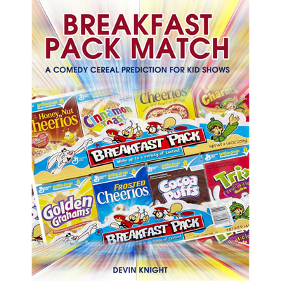 Breakfast Pack Match (Mentalism for Kids) by Devin Knight - eBoo