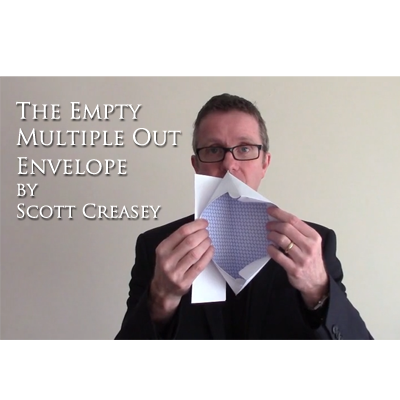 The Empty Multiple Out Envelope by Scott Creasey - Video DOWNLOA