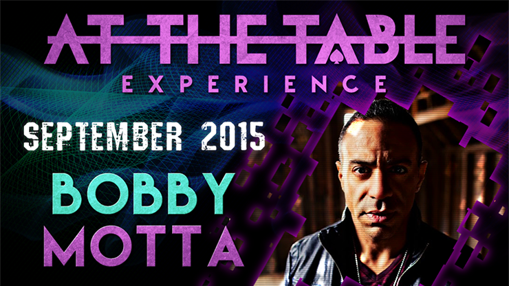 At the Table Live Lecture Bobby Motta September 16th 2015 video