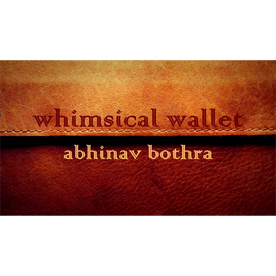 Whimsical Wallet by Abinav Bothra - Video DOWNLOAD