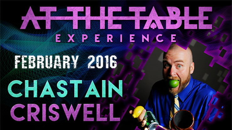 At the Table Live Lecture Chastain Criswell February 17th 2016 v