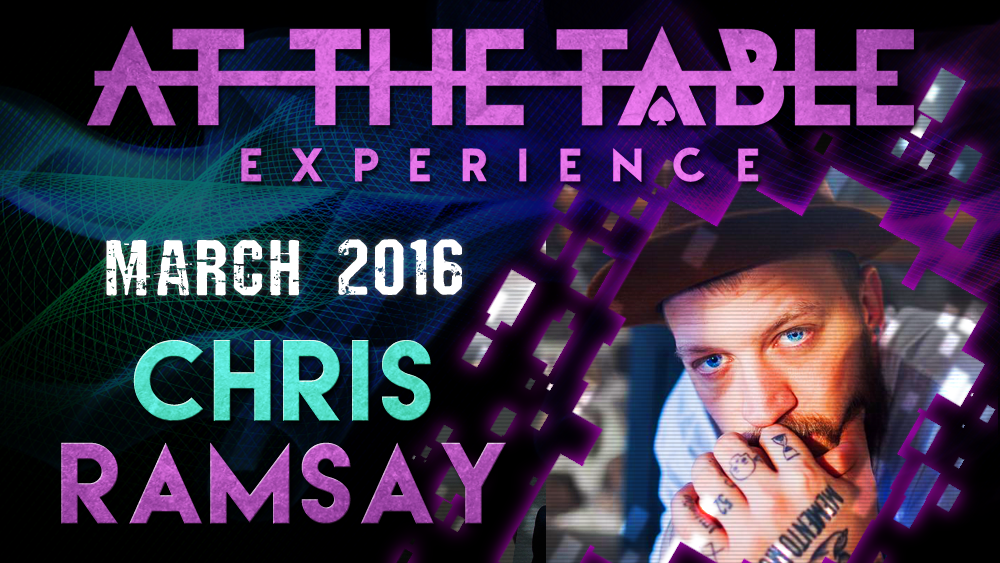 At the Table Live Lecture Chris Ramsay March 3rd 2016 video DOWN