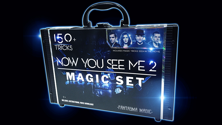 Now You See Me 2 Magic Set (150 Tricks)