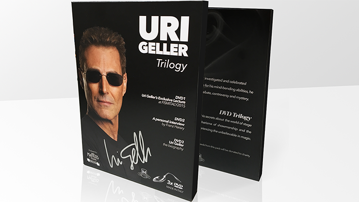 Uri Geller Trilogy (Signed Box Set)