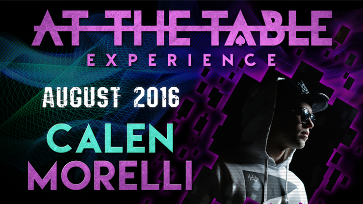 >At the Table Live Lecture Calen Morelli August 17th, 2016 video