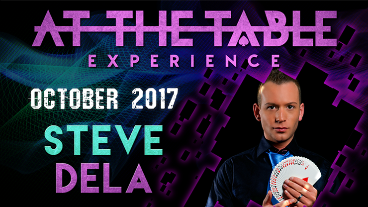 At The Table Live Lecture Steve Dela October 4th 2017 video DOWN