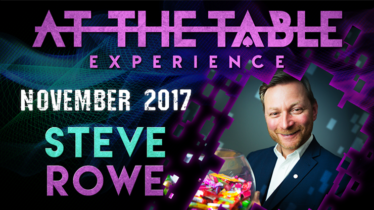At The Table Live Lecture Steve Rowe November 1st 2017 video DOW