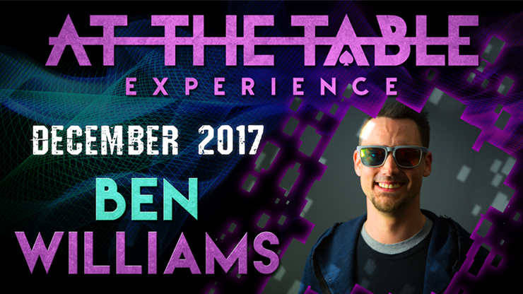 >At The Table Live Lecture Ben Williams December 6th 2017 video D