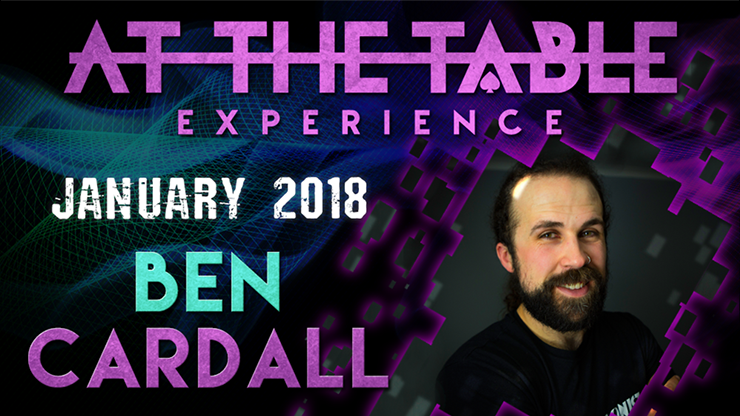 At The Table Live Lecture Ben Cardall January 17 2018 video DOWN