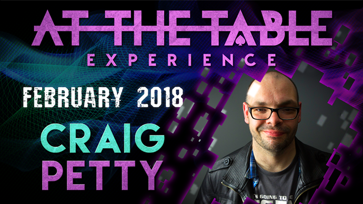 At The Table Live Lecture Craig Petty February 7th 2018 video DO