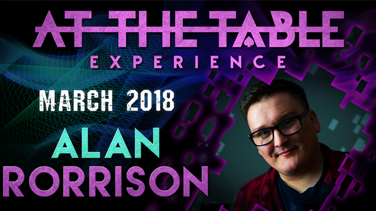 At The Table Live Lecture 2 Alan Rorrison March 7th 2018 video D