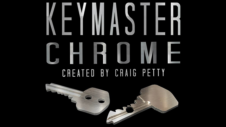Keymaster Chrome (Gimmicks and Online Instructions)