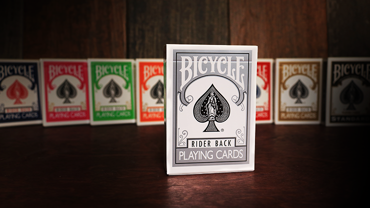 Silver Backed Bicycle Deck