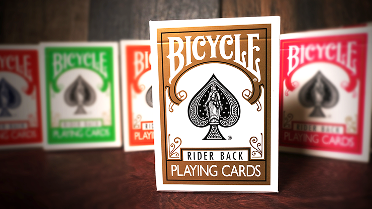 Gold Backed Bicycle Deck