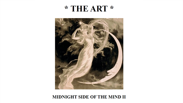 The Art: Midnight Side of the Mind II by Paul Voodini eBook DOWN