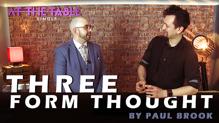 >Three Form Thought by Paul Brook ATT Single video DOWNLOAD