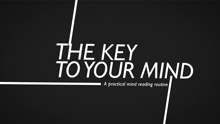 >The Key to Your Mind by Luca Volpe video DOWNLOAD
