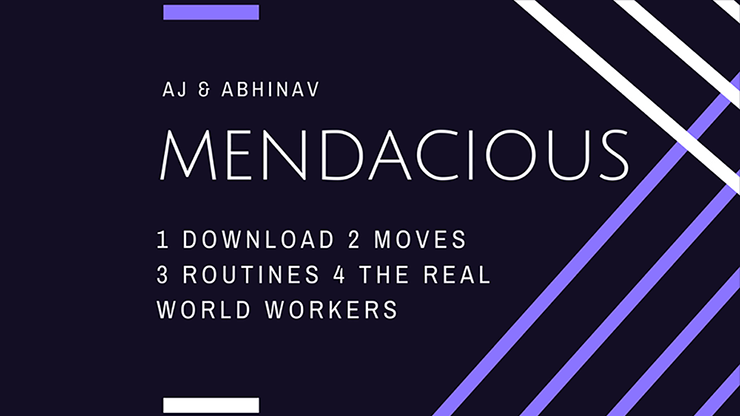 >MENDACIOUS by AJ and Abhinav video DOWNLOAD