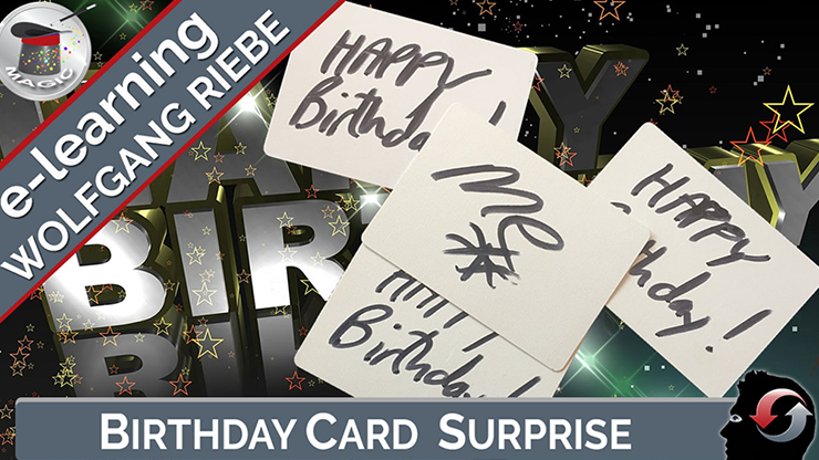 >Birthday Card Surprise by Wolfgang Riebe - video DOWNLOAD