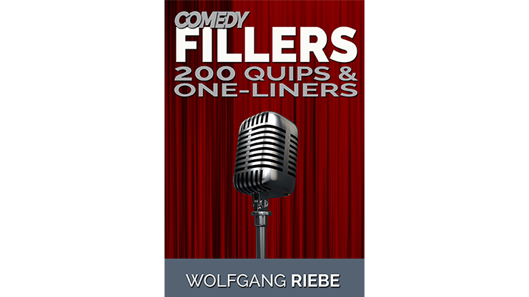 >Comedy Fillers 200 Quips & One-Liners by Wolfgang Riebe eBook DO