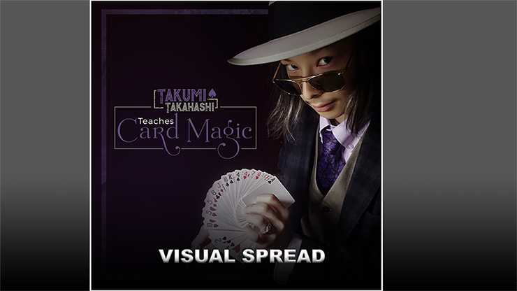 Takumi Takahashi Teaches Card Magic - Visual Spread video DOWNLO