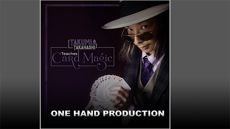 >Takumi Takahashi Teaches Card Magic - One Hand Production video
