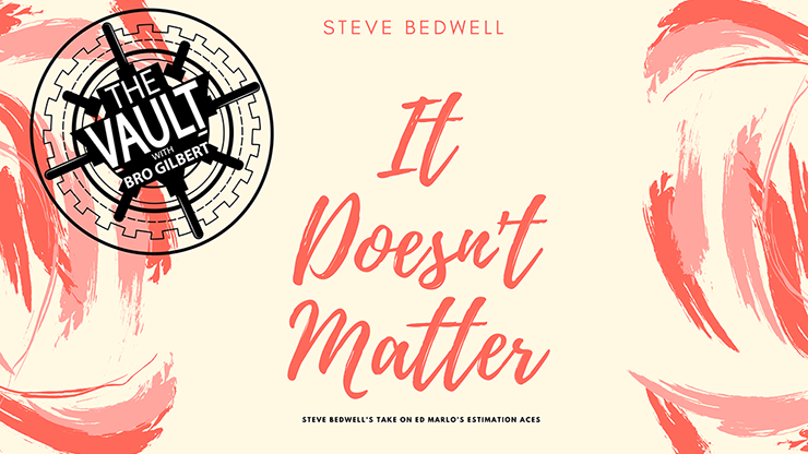 >The Vault - It Doesn't Matter by Steve Bedwell video DOWNLOAD