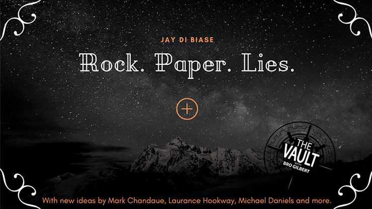 >The Vault - Rock Paper Lies Plus by Jay Di Biase video DOWNLOAD