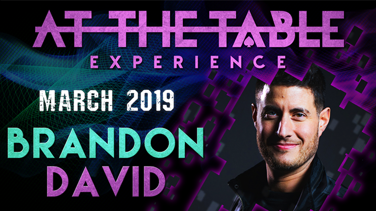 >At The Table Live Lecture Brandon David March 6th 2019 video DOW