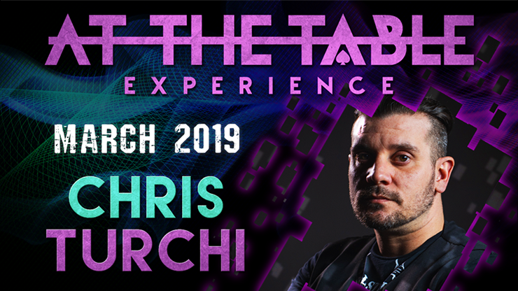 >At The Table Live Lecture Chris Turchi March 20th 2019 video DOW
