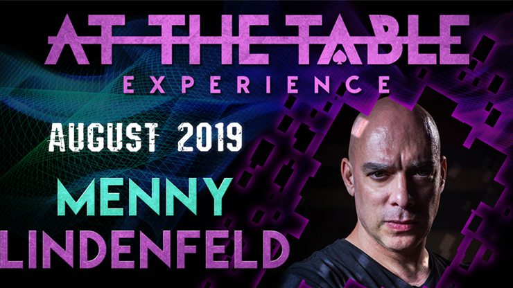 >At The Table Live Lecture Menny Lindenfeld 3 August 21st 2019 vi