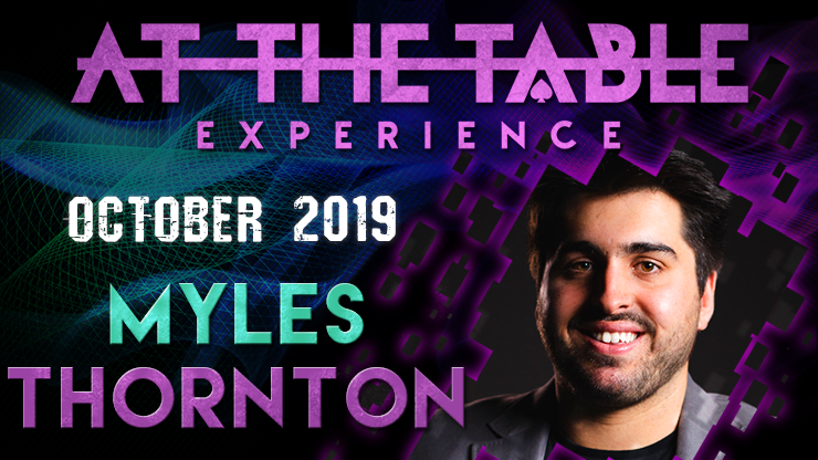 >At The Table Live Lecture Myles Thornton October 16th 2019 video