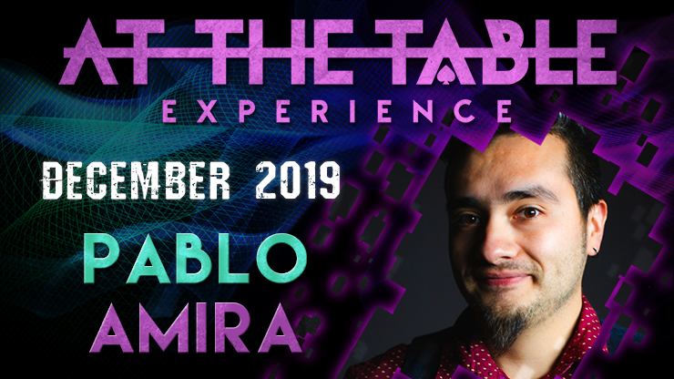 At The Table Live Lecture Pablo Amira December 4th 2019 video DO