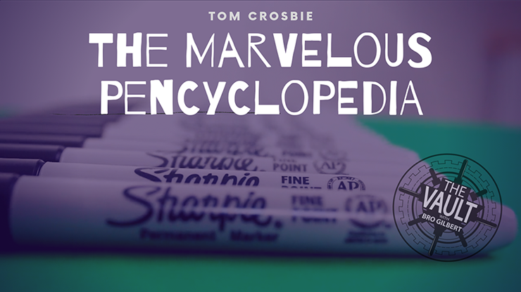 The Vault - The Marvelous Pencyclopedia by Tom Crosbie video DOW