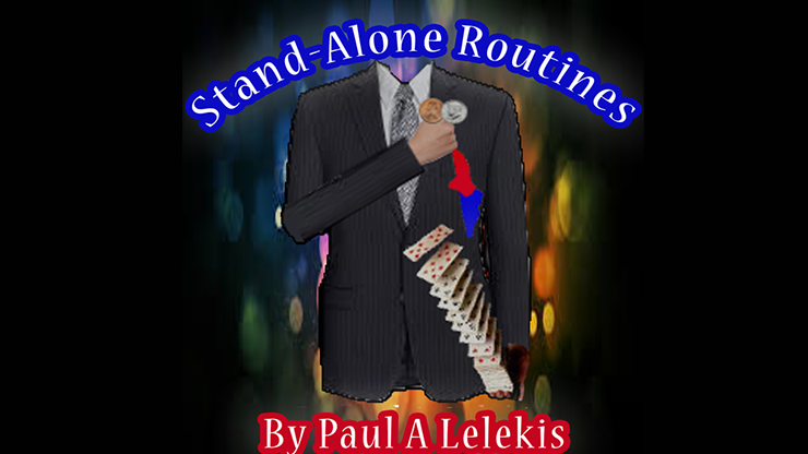 STAND-ALONE ROUTINES by Paul A. Lelekis Mixed Media DOWNLOAD