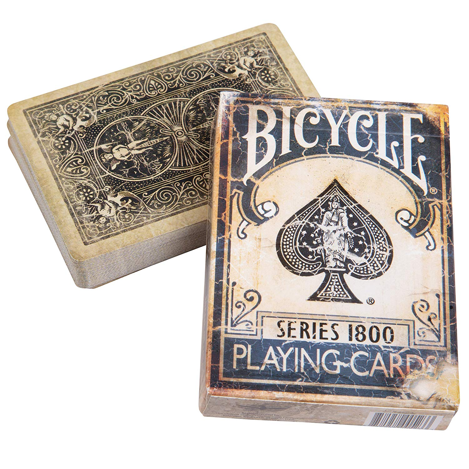 Bicycle 1800 Vintage Playing Cards Blue - Ellusionist