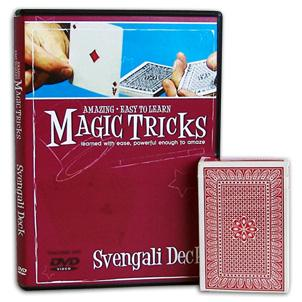 Amazing Easy To Learn Magic Tricks- Svengali Deck Combo