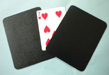 Card through Coaster