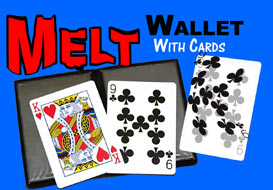 >Melt Wallet with Cards