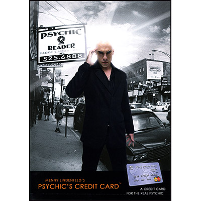 >Psychic's Credit Card by Menny Lindenfeld