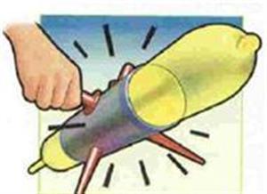 >Animal Balloon Penetration