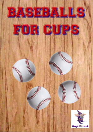 Baseballs for Cups & Balls